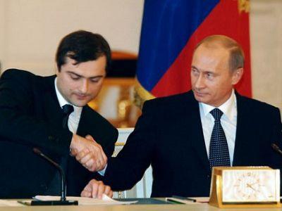 ДВА ШАКАЛА ПИДОРА ПУ: Константин Малофеев и Владислав Сурков...