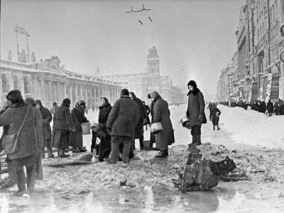 Блокадный Ленинград. Фото: gimn.chernyahovsk.ru
