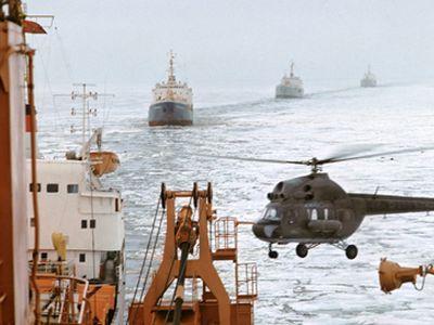 Путин помог учёным внаучных исследованиях вАрктике