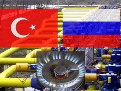 """""""Турецкий поток"""", Россия и Турция. Фото: neftegaz.ru"""