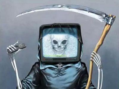 Телевизор убивает. Источник - http://seodemotivators.ru/
