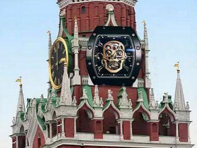 Часы Пескова (фотожаба). Фото: vk.com