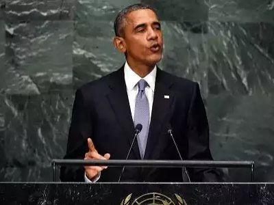 Выступление Б.Обамы в ГА ООН. Источник - http://www.cnbc.com/