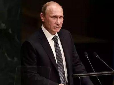 Речь Путина в ГА ООН, 28.9.15. Фото AFP, источник - http://top.rbc.ru/
