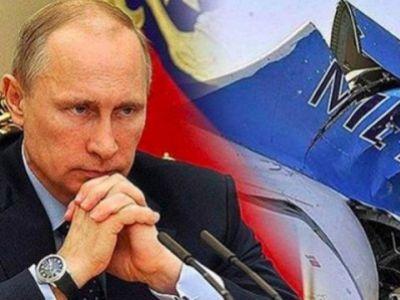 Путин и обломки А321 (коллаж). Публикуется в leonidstorch.livejournal.com