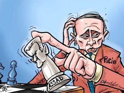"""Россия """"не виляет хвостом"""" в вопросе сирийского урегулирования, - Путин - Цензор.НЕТ 9371"""