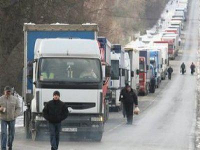 Наюге Российской Федерации дальнобойщики объявили забастовку из-за низких тарифов на транспортировки