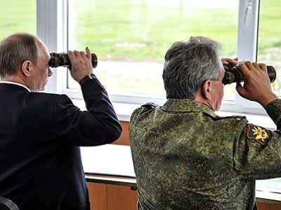 Размещены первые кадры неожиданной проверки боеготовности русских войск