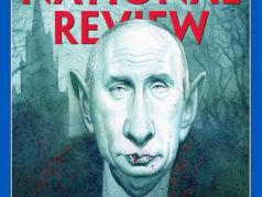 "Обложка журнала ""National Review"". Фото: nationalreview.com"
