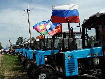 Участники «тракторного марша»: Если губернатор Кубани желает встречаться— пусть едет кнам