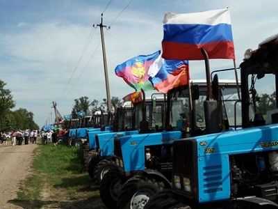 Организатор «Тракторного марша» наКубани объявил голодовку