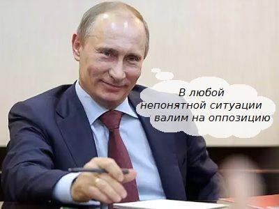 Путин назвал причины падения рейтингов «Единой России»
