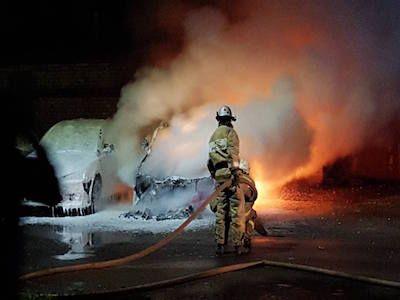 ВЖуковском сожгли автомобиль председателя местного отделения «Яблока»