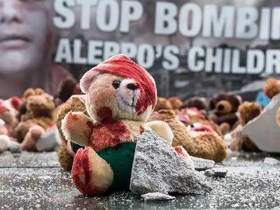 Берлинский протест против войны в Сирии Фото: