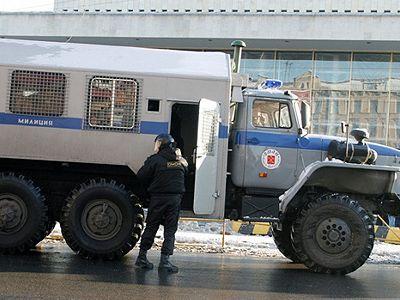 Нанесогласованной акции в столице задержали неменее 40 человек