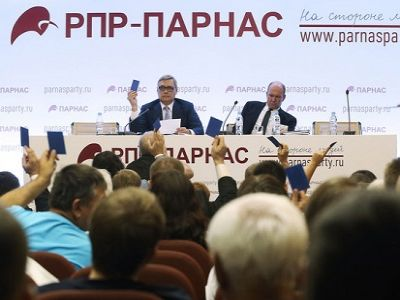 Зампред ПАРНАСа Владимир Кара-Мурза-младший вышел изпартии