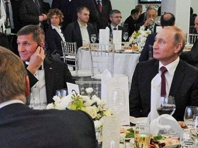 Майкл Флинн, Владимир Путин. Публикуется в yakovenkoigor.blogspot.ru
