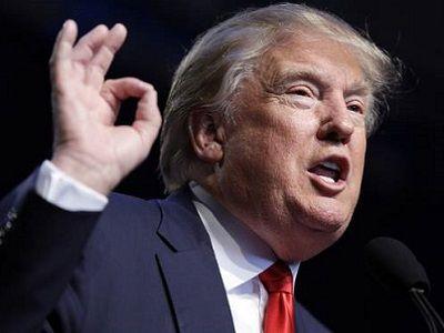 """Дональд Трамп и жест """"ОК"""". Фото: newsok.biz"""
