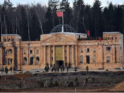 Парк «Патриот» начал трансляцию масштабной реконструкции «Штурм Берлина» всоциальных сетях