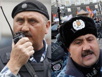 Нафотографиях сакции наТверской отыскали прежнего командира киевского «Беркута»