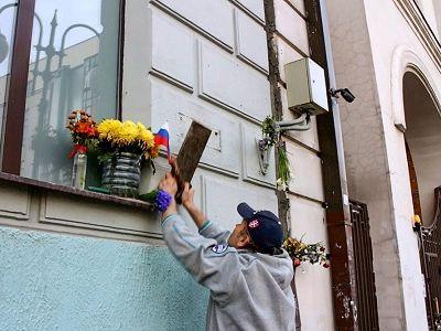 Новиков подрался сактивистом SERB удома Немцова