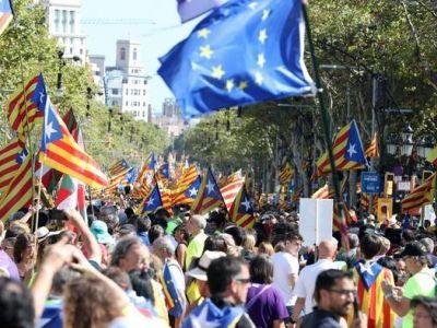 Референдум вКаталонии: оппозиция объявила всеобщую забастовку