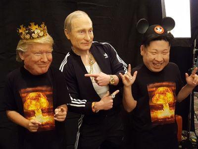 Трамп, Путин, Ын. Источник: buzzfeed.com