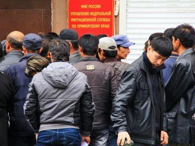 Трудовые мигранты в Приморье. Фото: primamedia.ru