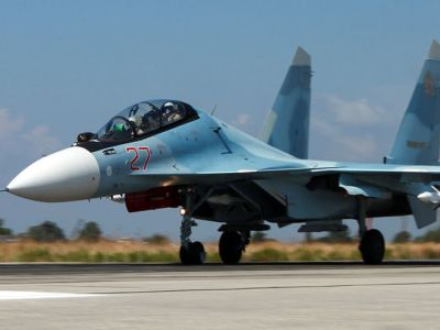 """""""Су-30СМ"""" в Сирии. Фото: ru.wikipedia.org"""