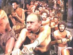 Путин на галерах. Коллаж: www.youtube.com/watch?v=76YqZYuP80M