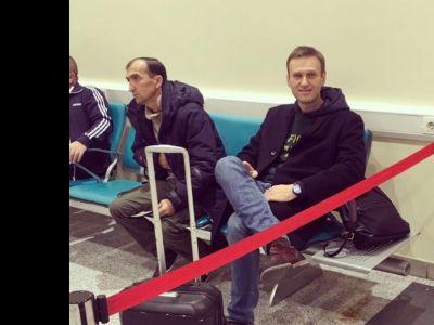 Оппозиционеру Алексею Навальному закрыли выезд из Российской Федерации