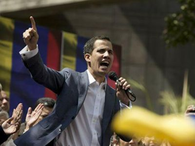 Президент Венесуэлы Хуан Гуайдо. Фото: www.facebook.com/profile.php?id=100006487019253