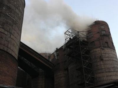 Ликвидация пожара в Магнитогорске