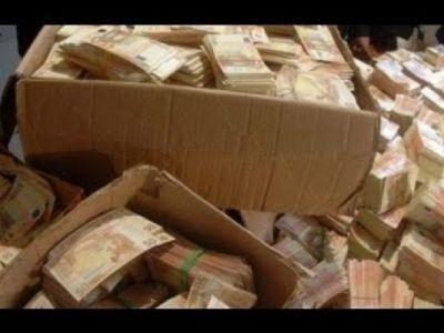 Деньги найденные при обыске у Черкалина Черновик
