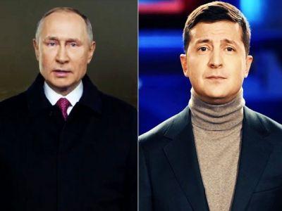 Новогодни обращения В.Путина и В.Зеленского. Источник: yakovenkoigor.blogspot.com