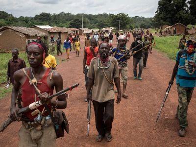 Центральноафриканские повстанцы. Фото: crisisgroup.org