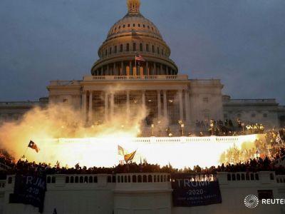 Захват Капитолия, 6.01.2021. Фото: https://t.me/ctrs2018