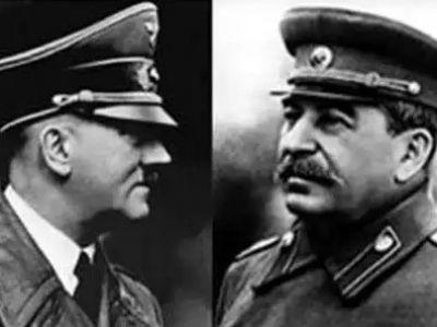 Гитлер и Сталин. Источник - http://www.tltonline.ru/