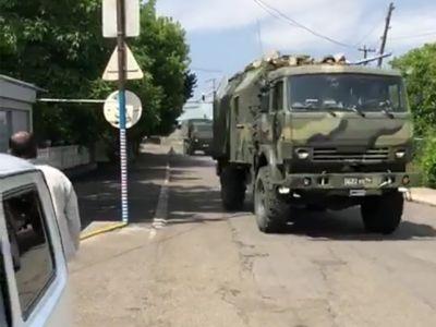 Стрельба российских военных в армянском селе Паник