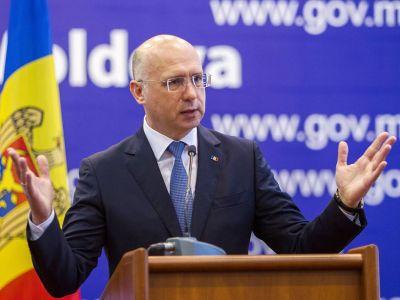 Временно исполняющий обязанности президента премьер-министр Молдовы Павел Филип. Фото: EPA-EFE / DUMITRU DORU