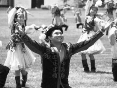 Киргизский танец